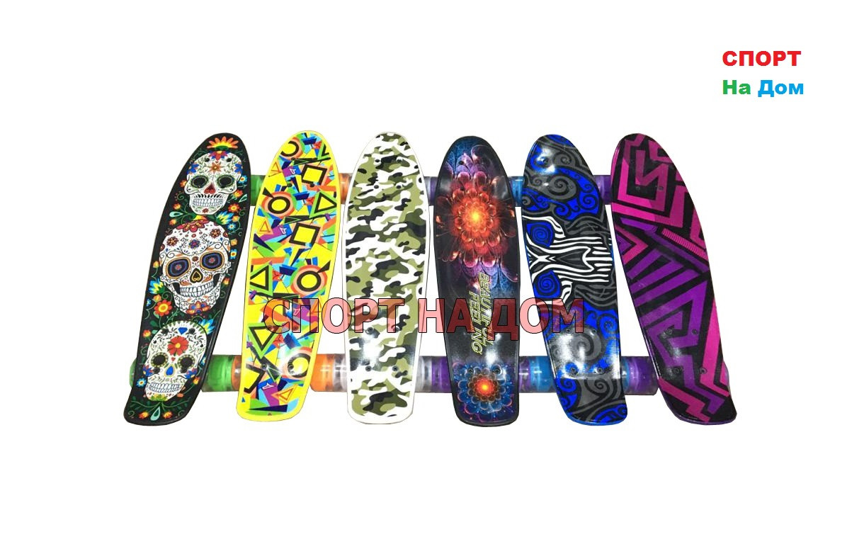 Скейтборд - Пенни борд детский (пластборд) 22 дюйма