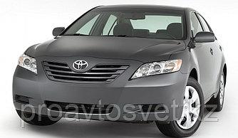 Переходные рамки на Toyota Camry ХV40 (2009-2011) Hella 3/3Rвместо штатных галогенных/ксеноновых модулей