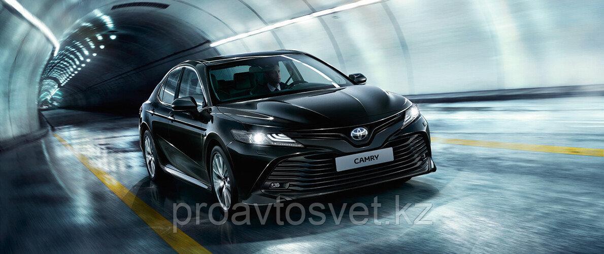 Переходные рамки на Toyota Camry 70 LED type (2018) Hella 3R