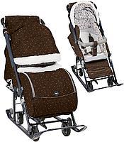 Как выбрать санки – коляску для ребенка