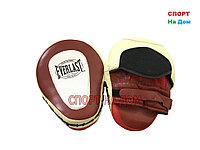 Лапы боксерские Everlast кожа (Классик)