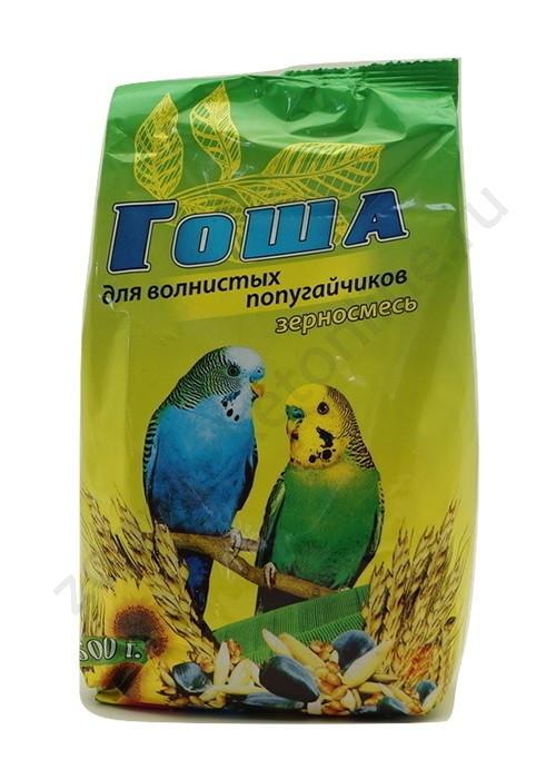 Корм для волнистых попугаев ГОША 500гр