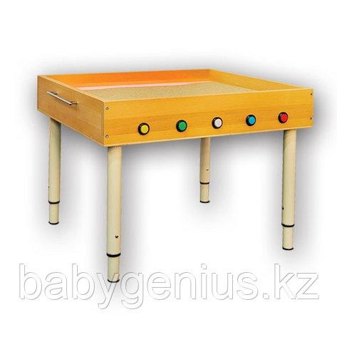 Световой стол из бука для рисования песком, фото 2