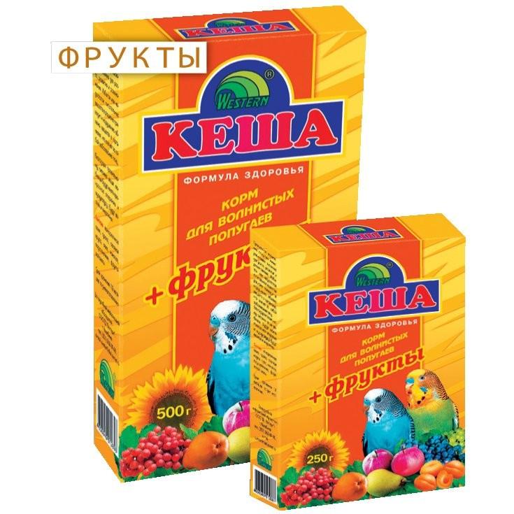 Корм для попугаев КЕША 500гр  Фрукты