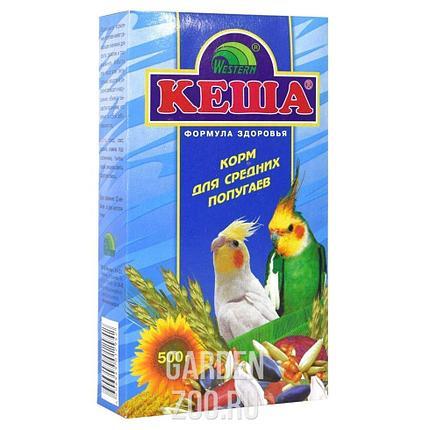 Корм для СРЕДНИХ попугаев КЕША 500гр, фото 2