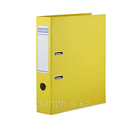 Папка-регистратор KUVERT А4, ширина 72 мм, желтые