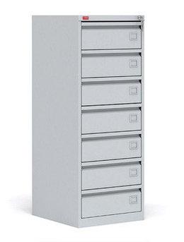 КР - 7 Картотечный металлический шкаф для хранения документов