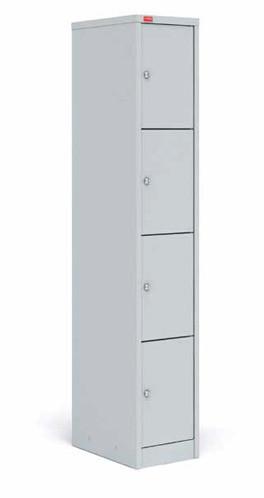 ШРМ - 14 Металлический шкаф для сумок односекционный