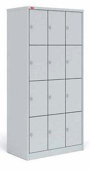 ШРМ - 312 Металлический шкаф для сумок трехсекционный