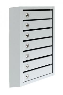 ПМ-7 Металлический почтовый ящик семисекционный