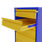 ВП - 4 Металлический верстак двухтумбовый, фото 2
