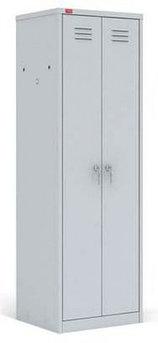 ШРМ - С/800 Двухсекционный металлический шкаф для одежды