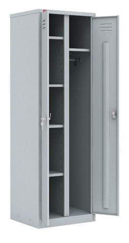 ШРМ - 22У/800  Двухсекционный металлический шкаф