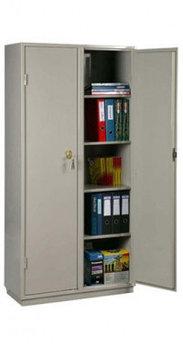 КБС - 10Н Металлический бухгалтерский шкаф 6-ти сувальдный
