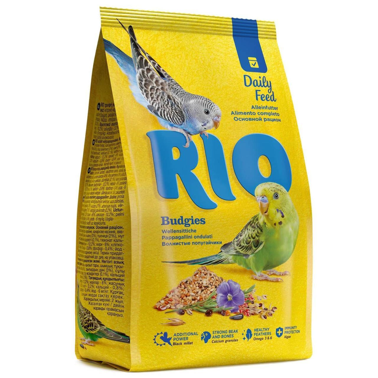 Корм для волнистых попугаев РИО 500гр