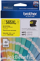 Картридж LC565XLY для Brother MFC-J3520 Желтый