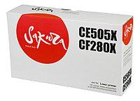 Картридж SAKURA CE505X/CF280X для HP Laserjet 400M (Black, 6900 стр)