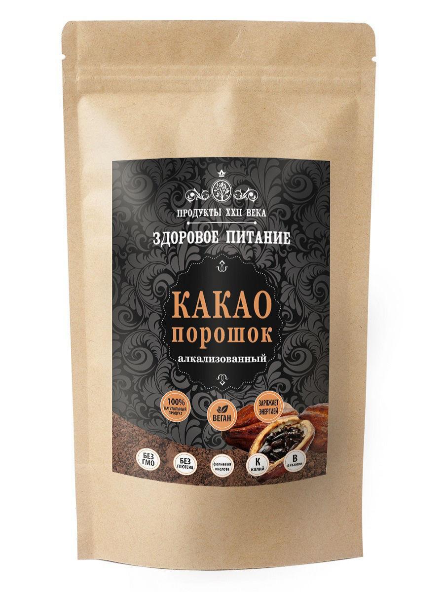 Какао Премиум порошок ,алкализованный ,200 гр