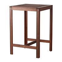 Барный стол, садовый, коричневая морилка ЭПЛАРО