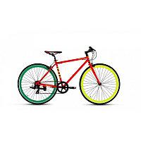 """Велосипед FORWARD INDIE FOL 1.0 (28"""" 1ск .рост.18) красный"""