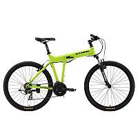 """Велосипед Stark'16 Cobra  зелено-желтый 19,5"""""""
