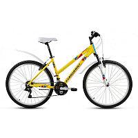 """Велосипед FORWARD SEIDO 26  1.0 алюм. (26"""" 18ск рост 15"""") желтый"""