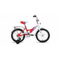Велосипед ALTAIR City boy 16(16'' 1ск.) белый / красный