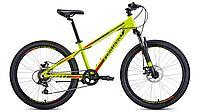 """Велосипед FORWARD TWISTER 24 2.0 disc алюм. (24"""" 7ск) желтый / черный /8712003000, RBKW0164Q003, фото 1"""