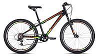 """Велосипед FORWARD TWISTER 24 1.0 алюм. (24"""" 7ск) черный / оранжевый /, RBKW01647008, фото 1"""