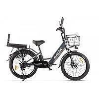Велогибрид GREEN CITY e-ALFA Fat черный-2160, фото 1