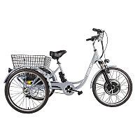 Трицикл CROLAN 500W silver-1927, фото 1