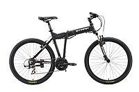 """Велосипед Stark'16 Cobra HD черно-серый 17,5"""""""