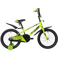 """Велосипед NOVATRACK 18"""", EXTREME, салатовый, полная защита цепи,  тормоз нож, короткие крылья, нет б, фото 1"""