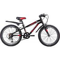 """Велосипед NOVATRACK 24"""" PRIME алюм.рама 11"""", чёрный, 18-скор, TY21/TS38/SG-6SI, V-brake алюм., фото 1"""