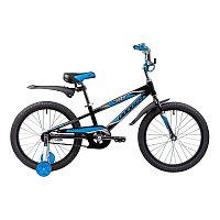 """Велосипед NOVATRACK 20"""", DODGER, черный, алюм.рама, тормоз нож., короткие крылья, нет багаж, фото 1"""