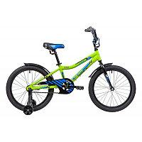 """Велосипед NOVATRACK 20"""" CRON, зеленый, алюм.рама, тормоз нож, короткие крылья, нет багажника, фото 1"""