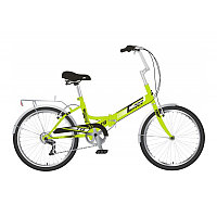 "Велосипед NOVATRACK 20"" складной, TG 30, зеленый, 6 скор. POWER, тормоз V-Brake, багажник, фото 1"