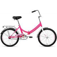 Велосипед FORWARD ARSENAL 20 1.0 скл. (20'' 1ск.) розовый / серый /, RBKW0YN01008, фото 1