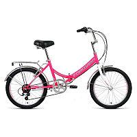 Велосипед FORWARD ARSENAL 20 2.0 скл. (20'' 6ск.) розовый / серый /, RBKW0YN06007, фото 1