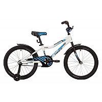 """Велосипед NOVATRACK 20"""" CRON, белый, алюм.рама, тормоз нож, короткие крылья, нет багажника, фото 1"""
