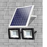 Прожектор на солнечной батарее 100 ватт LED для наружного и внутреннего освещения, фото 3