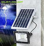 Прожектор на солнечной батарее 100 ватт LED для наружного и внутреннего освещения, фото 4