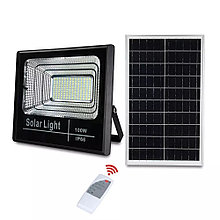 Прожектор на солнечной батарее 100 ватт LED для наружного и внутреннего освещения