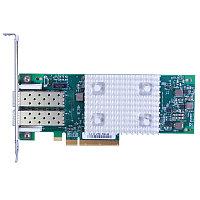 Адаптер главной шины Dell Qlogic 2692 Dual Port 16Gb Fib re Channel HBA, Low Profile (403-BBMT)