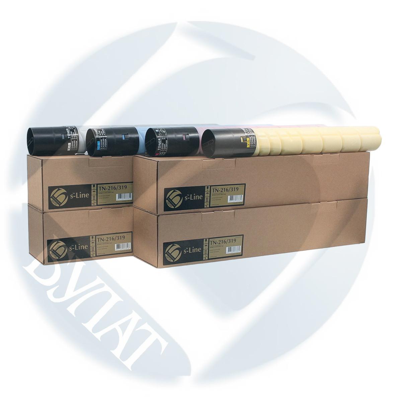 Тонер-картридж Konica Minolta Bizhub C220/C360 TN216/319 (29k)  Black  БУЛАТ s-Line