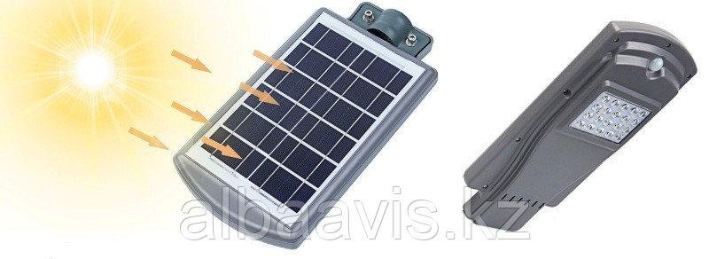 Светильник уличного освещения на солнечных батареях 20 W UPS220V
