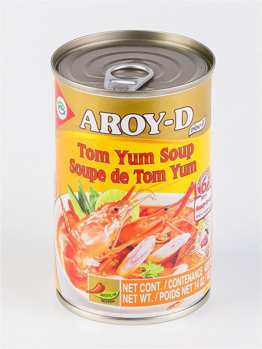 Суп Том Ям ,AROY-D .400 гр ж/б