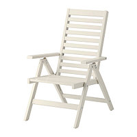 ЭПЛАРО  Садовое кресло/регулируемая спинка, складной белый белый, фото 1