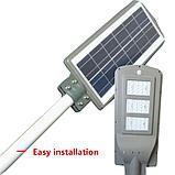 Светильник уличного освещения на солнечных батареях 90W. ску на солнце, светильник от солнечной панели, фото 5