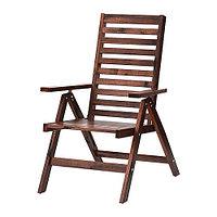 Кресло садовое /регулируемая спинка ЭПЛАРО складной ИКЕА, IKEA, фото 1